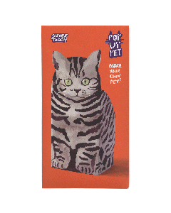 Silver Tabby | Pop up pet