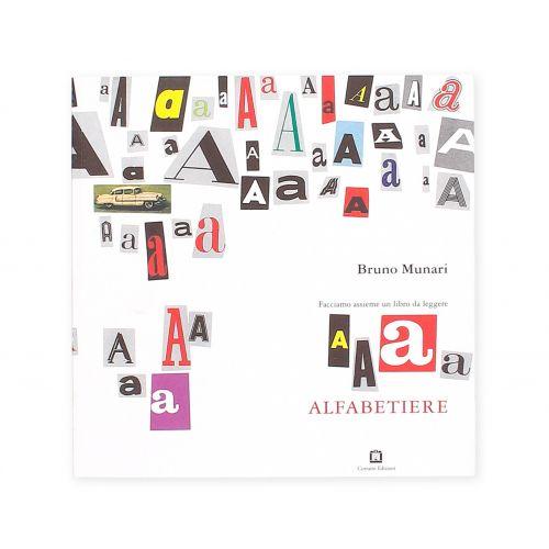 Alfabetiere Bruno Munari Corraini Edizioni Copertina