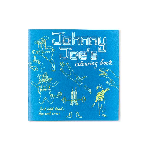 Johnny Joe's colouring book Roz Streeten | Steve Kamlish