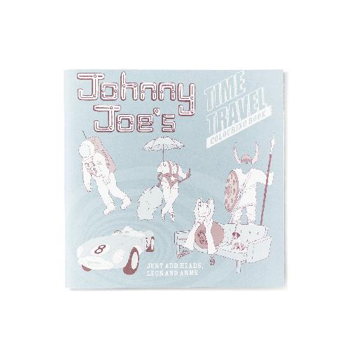 Johnny Joe's Time Travel colouring book Roz Streeten | Steve Kamlis