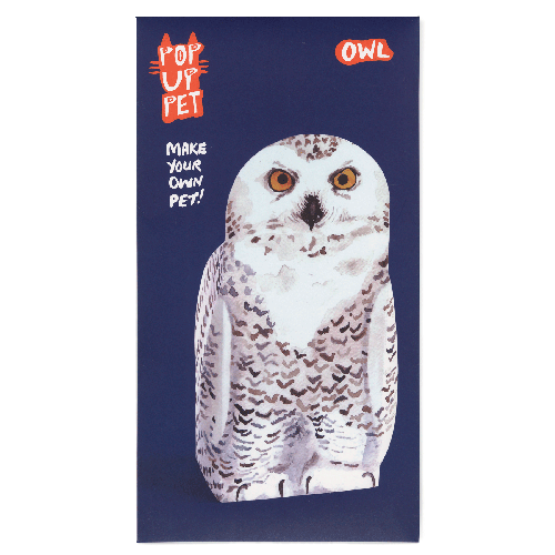 Owl | Pop up pet