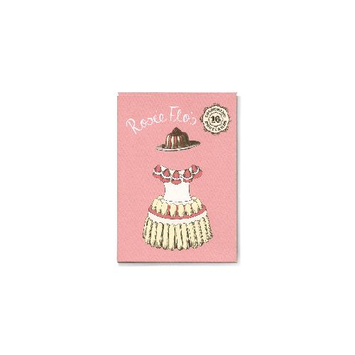 Rosie Flo's colouring postcards