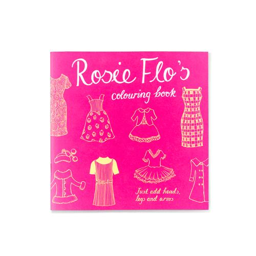 Rosie Flo's colouring book Roz Streeten | Steve Kamlish