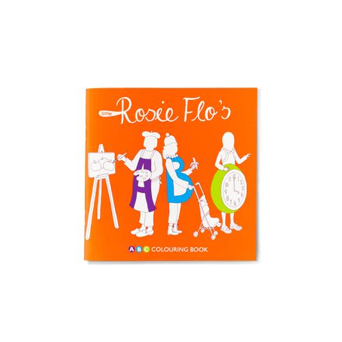 Rosie Flo's ABC colouring book Roz Streeten | Steve Kamlish