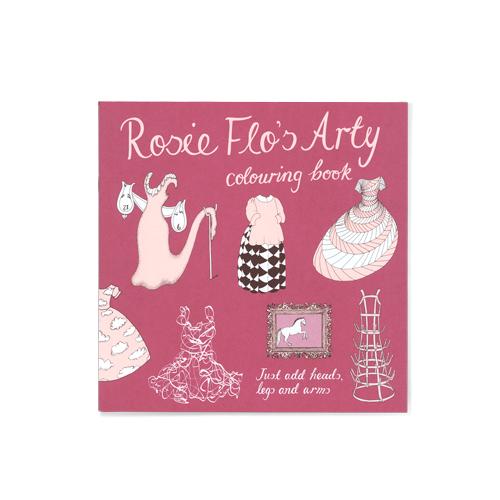 Rosie Flo's Arty colouring book Roz Streeten | Steve Kamlish