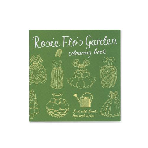 Rosie Flo's Garden colouring book Roz Streeten | Steve Kamlish