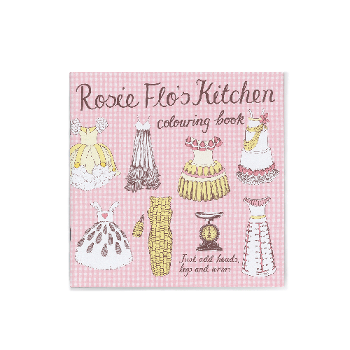 Rosie Flo's Kitchen colouring book Roz Streeten | Steve Kamlish