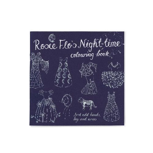 Rosie Flo's Night-time colouring book Roz Streeten | Steve Kamlish