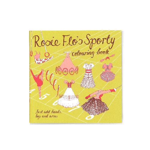 Rosie Flo's Sporty colouring book Roz Streeten | Steve Kamlish