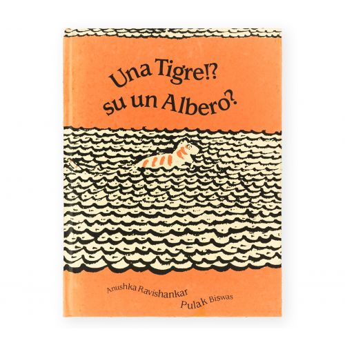 Una tigre!? Su un albero?